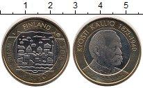 Изображение Монеты Финляндия 5 евро 2016 Биметалл UNC Куости Каллио
