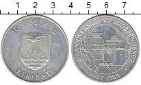 Изображение Монеты Кирибати 10 долларов 1984 Серебро UNC-