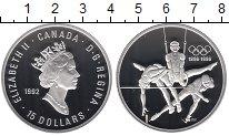 Изображение Монеты Канада 15 долларов 1992 Серебро Proof-