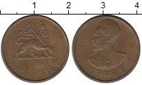 Изображение Монеты Эфиопия 5 центов 1944 Бронза XF