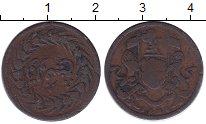 Изображение Монеты Малайя 1 цент 1828 Медь VF Пенанг. Британская а