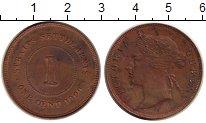 Изображение Монеты Стрейтс-Сеттльмент 1 цент 1900 Медь XF