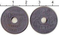 Изображение Монеты Тунис 10 сантим 1942 Цинк XF