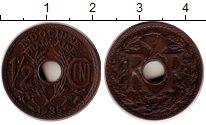 Изображение Монеты Индокитай 1/2 цента 1935 Бронза XF