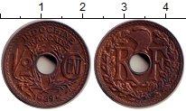 Изображение Монеты Индокитай 1/2 цента 1939 Бронза XF