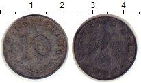 Изображение Монеты Германия Третий Рейх 10 пфеннигов 1944 Цинк XF