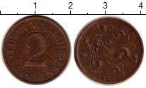 Изображение Монеты Эстония 2 сенти 1934 Бронза XF