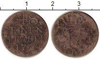 Изображение Монеты Пруссия 1/48 талера 1779 Серебро VF