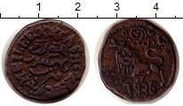 Изображение Монеты Индия Майсор 20 кеш 1836 Медь XF