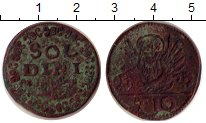 Изображение Монеты Греция Крит 2 1/2 сольди 0 Медь VF
