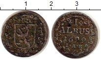 Изображение Монеты Гессен-Дармштадт 1 альбус 1699 Серебро VF Эрнст Людвиг
