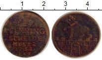 Изображение Монеты Германия Анхальт-Бернбург 1 пфенниг 1751 Медь VF