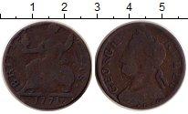 Изображение Монеты Великобритания 1/2 пенни 1771 Медь VF