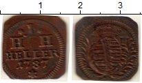 Изображение Монеты Германия Саксен-Хильдбургхаузен 1 геллер 1787 Медь XF