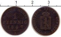 Изображение Монеты Рейсс-Шляйц 1 пфенниг 1847 Медь VF