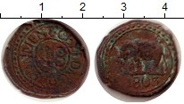 Изображение Монеты Цейлон 1/48 риксдоллара 1803 Медь VF
