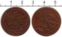 Изображение Монеты Мексика 1/4 реала 1833 Медь XF-