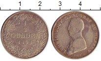 Изображение Монеты Германия Гессен-Хомбург 1/2 гульдена 1838 Серебро VF
