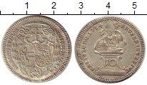 Изображение Монеты Германия Зальцбург 10 крейцеров 1754 Серебро XF+