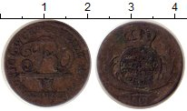 Изображение Монеты Вюртемберг 6 крейцеров 1808 Серебро VF Фридрих