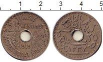Изображение Монеты Тунис 25 сантим 1919 Медно-никель XF