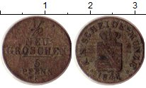 Изображение Монеты Германия Саксония 1/2 гроша 1848 Серебро VF