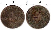 Изображение Монеты Ольденбург 1 грош 1869 Серебро VF