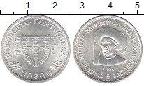 Изображение Монеты Португалия 20 эскудо 1960 Серебро UNC-