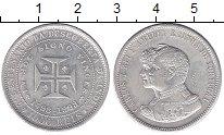 Изображение Монеты Португалия 1000 рейс 1898 Серебро XF