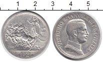 Изображение Монеты Италия 2 лиры 1916 Серебро XF Король Виктор Эмману