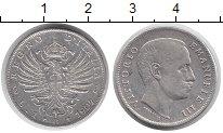 Изображение Монеты Италия 1 лира 1907 Серебро XF Король Виктор Эмману