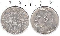 Изображение Монеты Польша 5 злотых 1934 Серебро XF Йозеф Пилсудский (ЛЕ