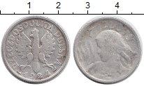 Изображение Монеты Польша 1 злотый 1924 Серебро VF Крестьянка
