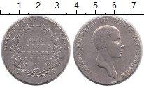 Изображение Монеты Пруссия 1 талер 1814 Серебро VF Фридрих Вильгельм II
