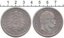 Изображение Монеты Пруссия 5 марок 1875 Серебро VF Вильгельм I