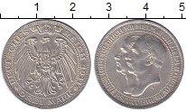 Изображение Монеты Пруссия 3 марки 1911 Серебро XF 100 - летие  Универс