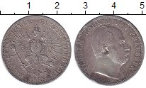 Изображение Монеты Пруссия 1 талер 1868 Серебро XF Вильгельм.