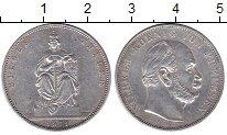 Изображение Монеты Пруссия 1 талер 1871 Серебро XF Вильгельм I. Победа