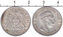 Изображение Монеты Пруссия 2 марки 1911 Серебро XF Вильгельм II
