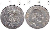 Изображение Монеты Германия Саксония 3 марки 1912 Серебро XF-
