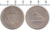Изображение Монеты Веймарская республика 3 марки 1930 Серебро XF A. Освобождение Рейн