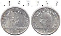 Изображение Монеты Веймарская республика 3 марки 1929 Серебро XF G. 10-летие Веймарск