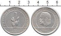 Изображение Монеты Веймарская республика 3 марки 1929 Серебро XF J. 10-летие Веймарск