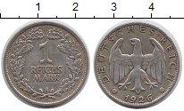 Изображение Монеты Веймарская республика 1 марка 1926 Серебро XF- А