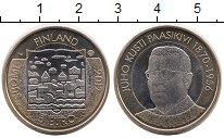Изображение Монеты Финляндия 5 евро 2017 Биметалл UNC-