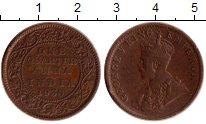 Изображение Монеты Индия 1/4 анны 1930 Бронза XF Георг V