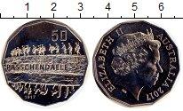 Изображение Монеты Австралия 50 центов 2017 Медно-никель UNC-