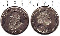 Изображение Монеты Великобритания Фолклендские острова 1 крона 2009 Медно-никель UNC-