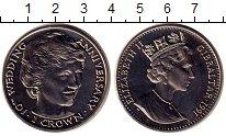 Изображение Монеты Гибралтар 1 крона 1991 Медно-никель UNC- Елизавета II.  Леди