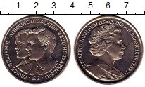 Изображение Монеты Британско - Индийские океанские территории 2 фунта 2011 Медно-никель UNC-
